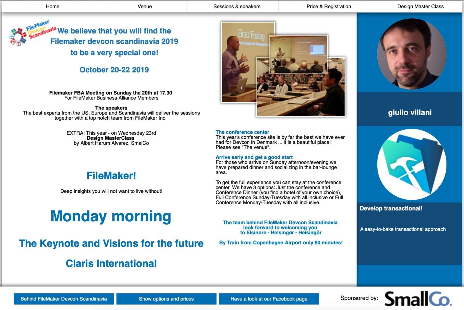 Presente e futuro di Filemaker: intervista con Giulio Villani finalista di Filemaker Guru