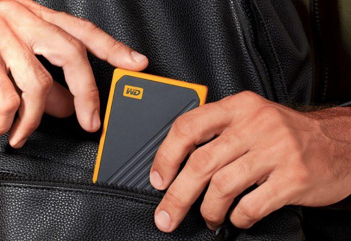 Sconto Amazon: WD My Passport Go SSD da 1 TB a 157 euro,