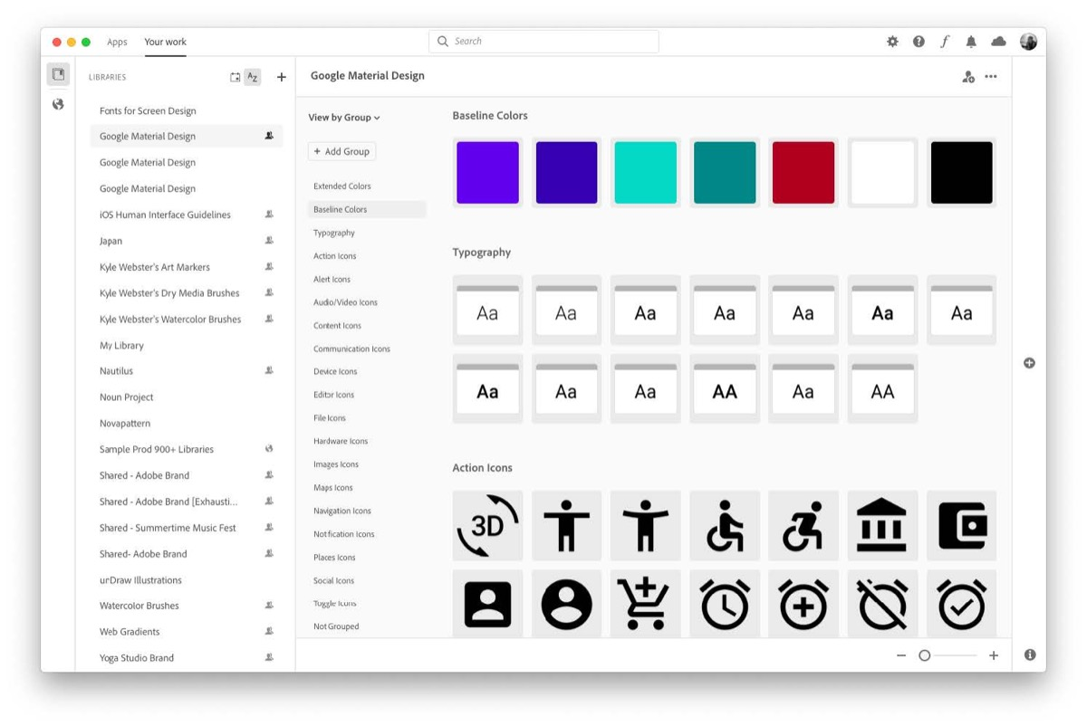 Adobe ha potenziato l'app Creative Cloud per macOS e Windows
