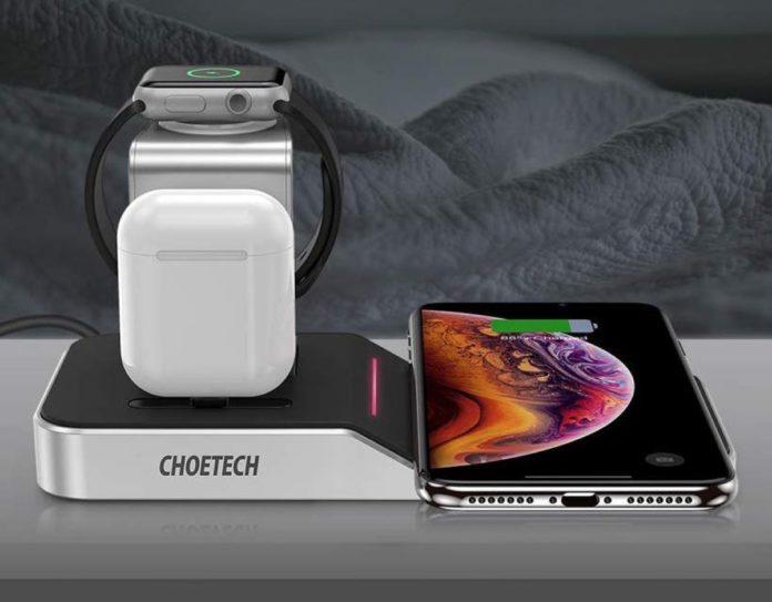 Dock caricatutto per iPhone, Apple Watch e AirPods scontato a 53,99 euro