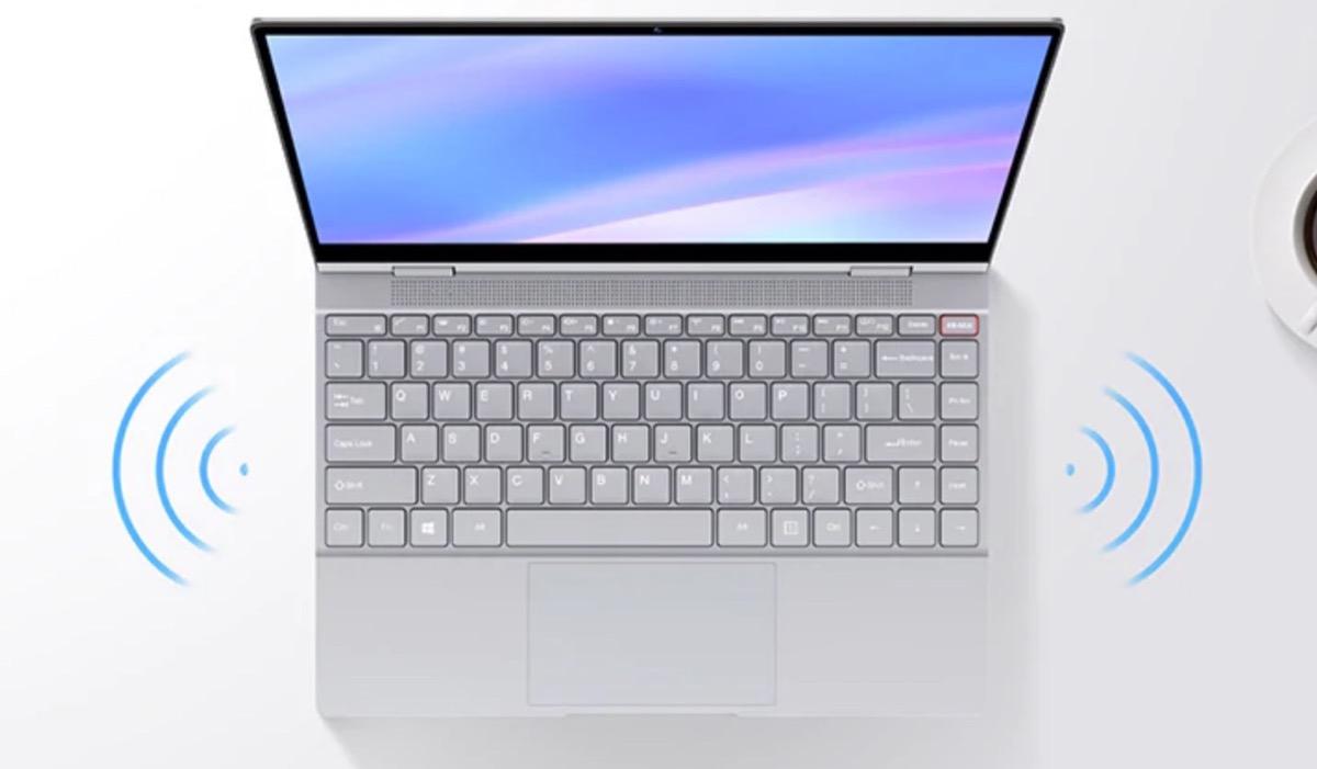 BMAX Y13, l'ultrabook tutto-schermo con doppia presa USB-C