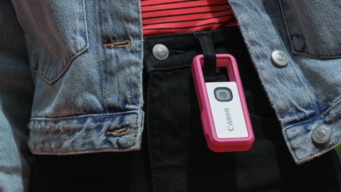 Canon IVY REC, la fotocamera anti-tutto racchiusa in un moschettone