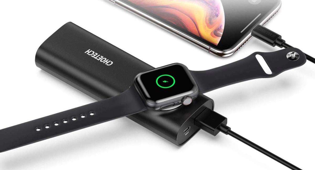 Choetech T315, la powerbank per iPhone e Apple Watch scontata a 44,99 euro