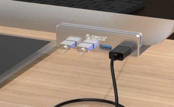 Mettete quattro porte USB davanti all'iMac: hub avvitabile in sconto a 17,59 euro