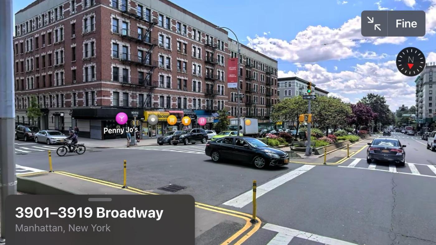 """Mappe """"Look Around"""" di iOS 13 vi fa visitare Los Angeles e New York"""