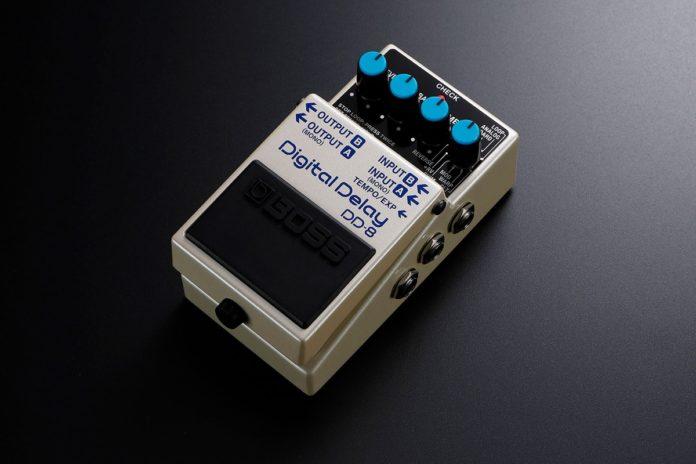 BOSS DD-3T e DD-8, il suono senza tempo del delay entra nell'era moderna
