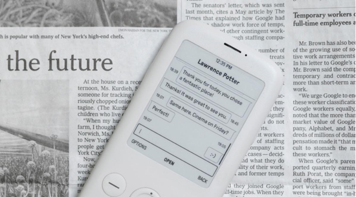 Mudita Pure, il cellulare con schermo E-Ink e modalità hotspot
