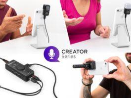 IK Multimedia presenta tre microfoni e uno streamer per creators