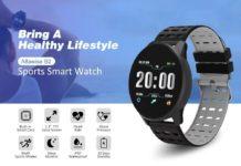Alfawise B2, lo smartwatch con NFC, cardio, ossimetro e autonomia di 30 giorni a soli 13 euro