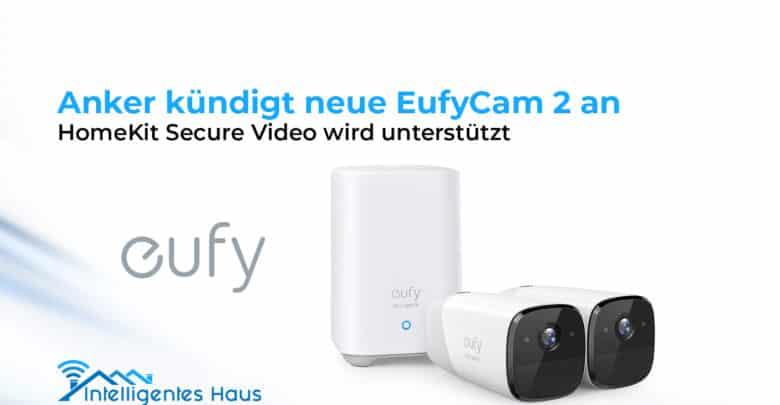 EufyCam 2, la camera di sicurezza Anker sarà compatibile con HomeKit Secure Video di Apple