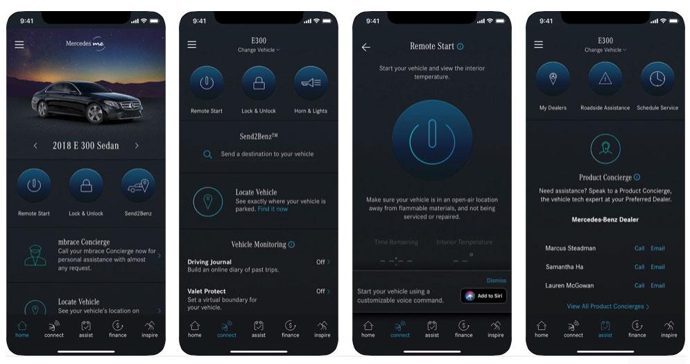 Utenti dell'app di Mercedes-Benz a loro insaputa mostrano dettagli sui loro spostamenti a terzi