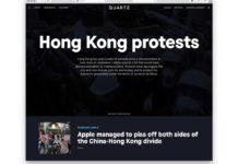 L'app Quartz rimossa dall'App Store cinese perché diffondeva notizie sulle proteste di Hong Kong