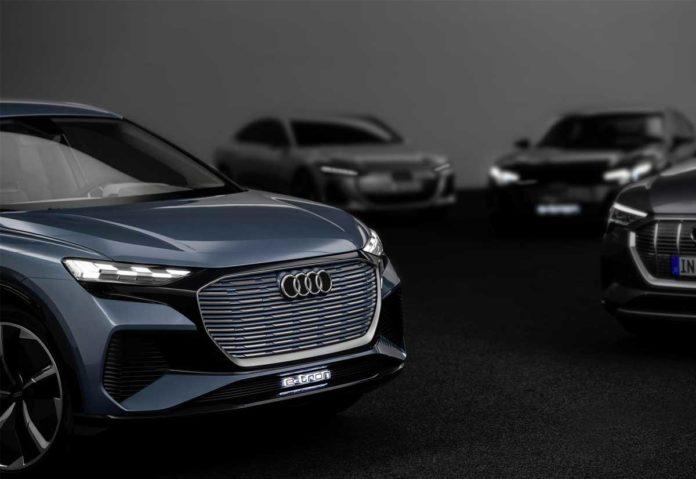 Audi, oltre 30 modelli a elevata elettrificazione entro il 2025, 20 dei quali integralmente elettrici