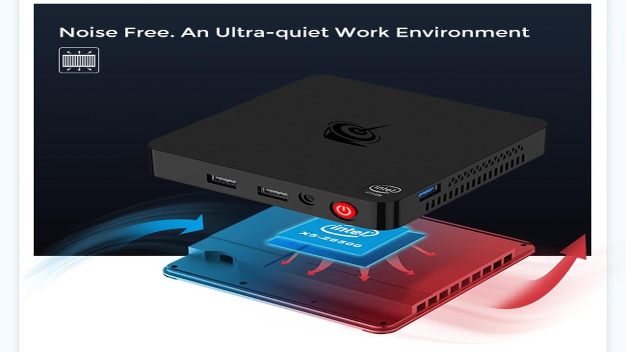 In super sconto Beelink T4, il mini PC con Intel Atom x5 a meno di 110 euro