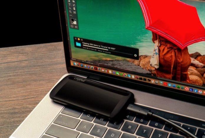 Crucial lancia il suo primo SSD portatile: è X8, con velocità oltre i 1.000 MB/s