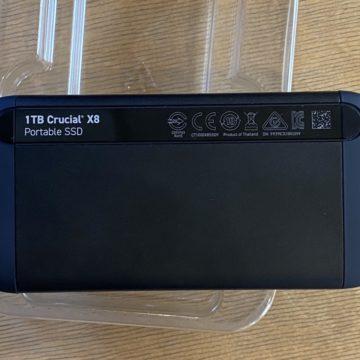 Ecco X8, il primo drive Ssd esterno ad alta performance di Crucial