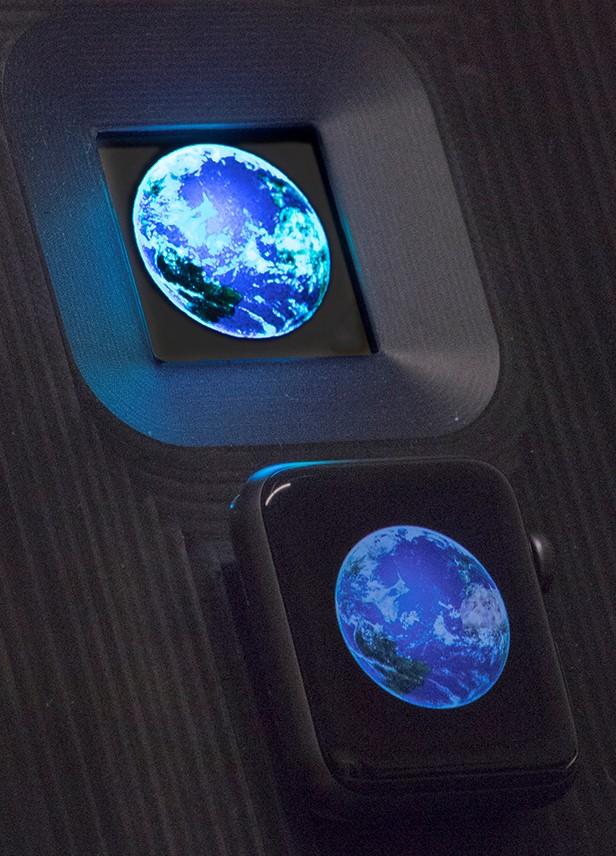 Kyocera mostrerà un display microLED da 1,8″