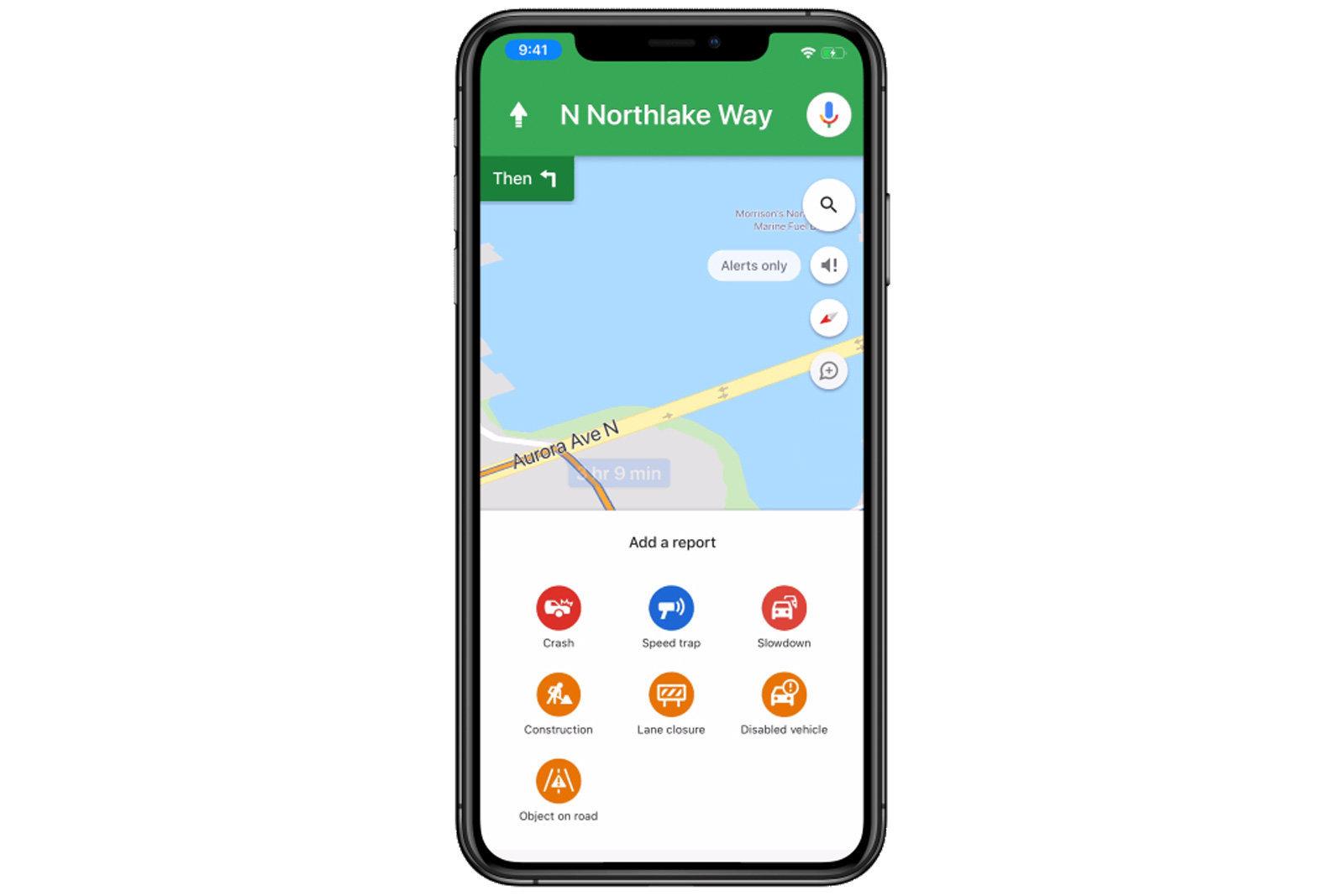 Anche su Google Maps iOS si possono segnalari incidenti