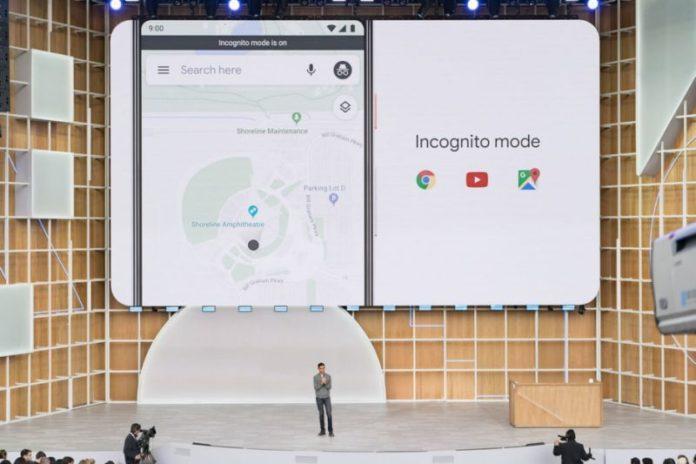 Google Mappe pronto alla navigazione in incognito