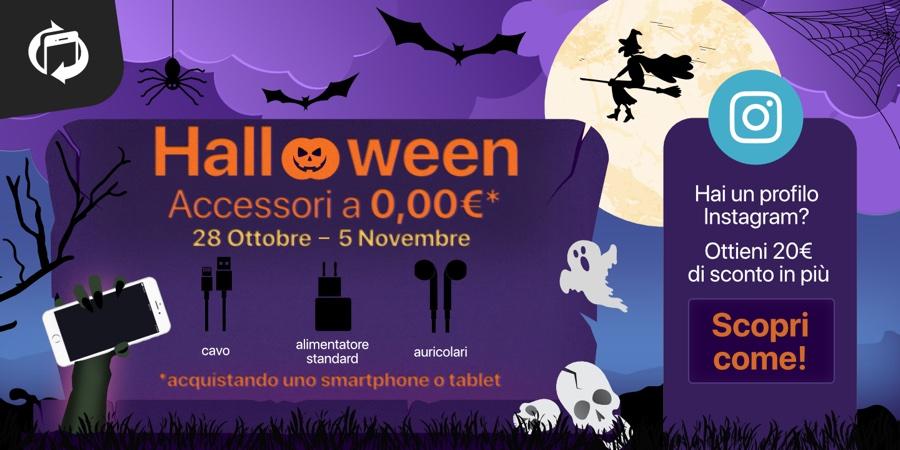 Halloween su TrenDevice con 3 regali da brivido: accessori gratis, sconto 20€ e una golosa sorpresa