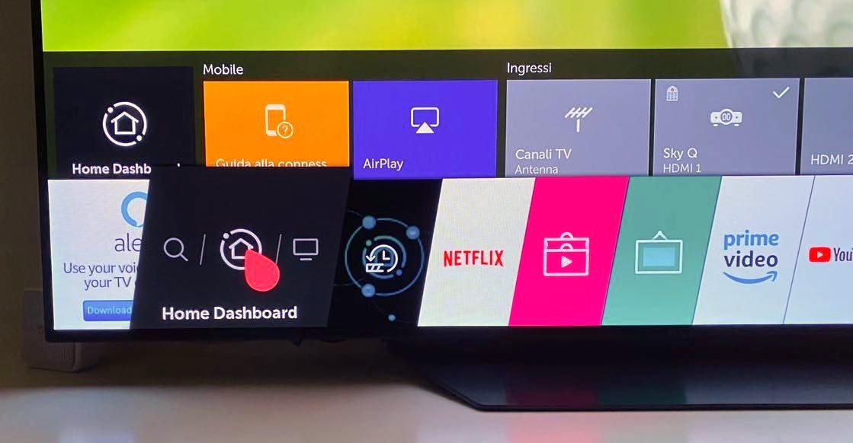 Come funzionano Airplay e Homekit sui TV LG Oled, Nanocell e LED