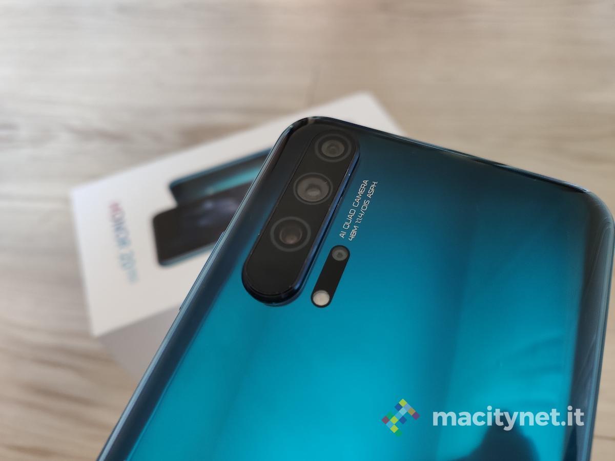 Recensione Honor 20 Pro, un ottimo camera phone