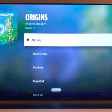 Amazon Music arriva su Apple TV con la sua App