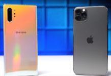 iPhone 11 Pro Max contro Galaxy Note 10+, Apple domina nell'autonomia