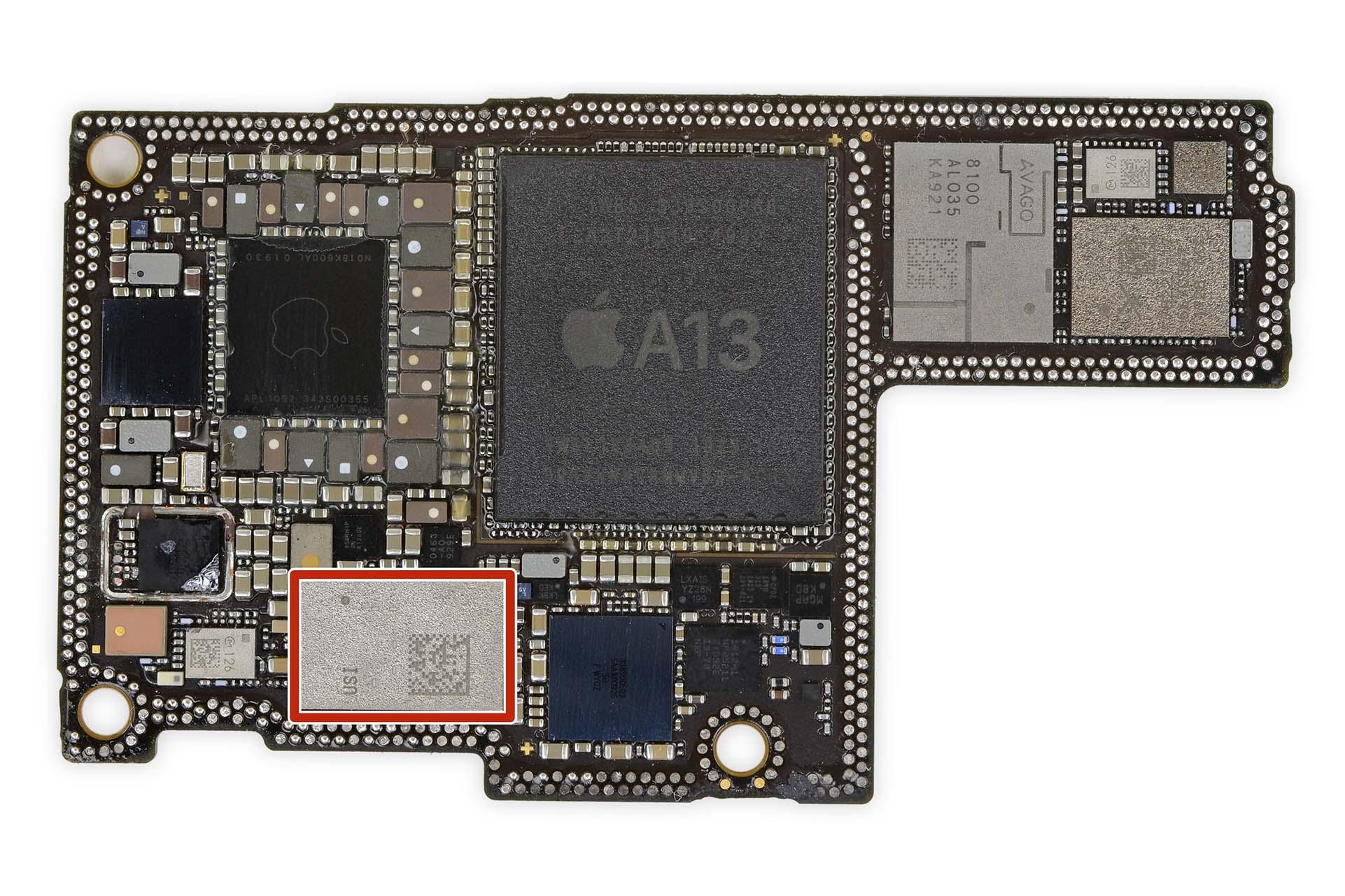Il chip Ultra Wideband U1 di iPhone 11 è progettato da Apple