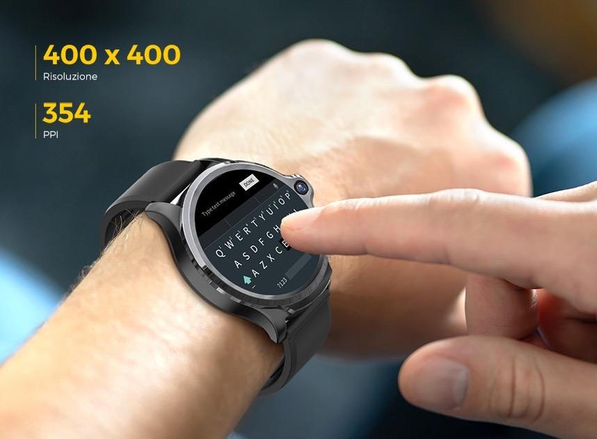 KOSPET Prime 4G, in offerta lo smartwatch con Face ID e batteria da 1260 mAh