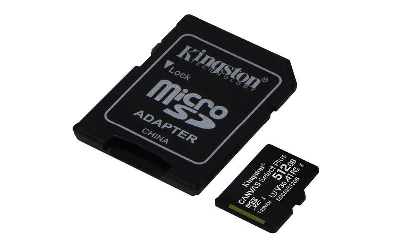 Kingston espande la linea di schede microSD e SD cona la gamma Canvas Select Plus