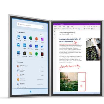 Microsoft punta sul doppio schermo con Neo e Surface Duo