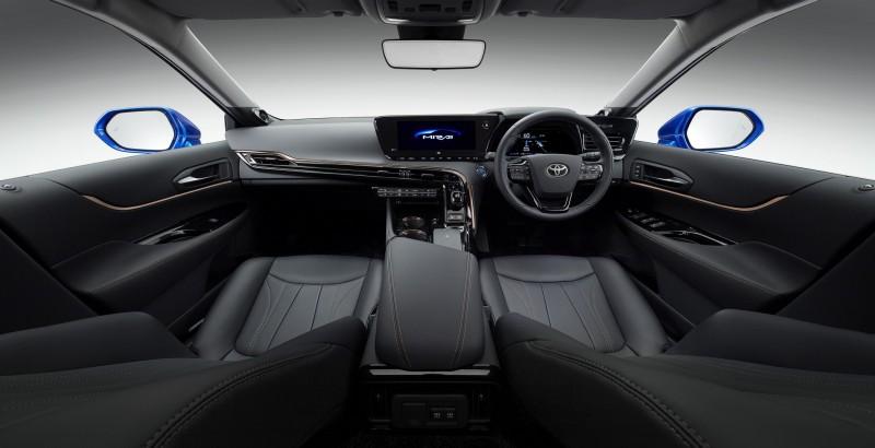 Toyota Mirai: ecco come sarà la fuel cell di seconda generazione