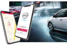Con l'app Nissan Charge pià facile ricaricare i veicoli elettrici in viaggio