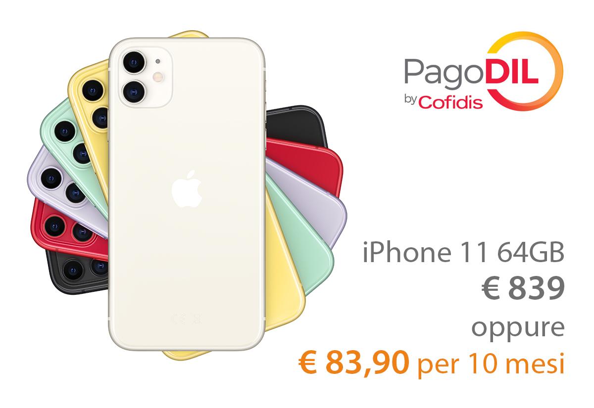 Con Juice e PagoDIL iPhone 11 e non solo si compra online in 10 rate a Tasso Zero