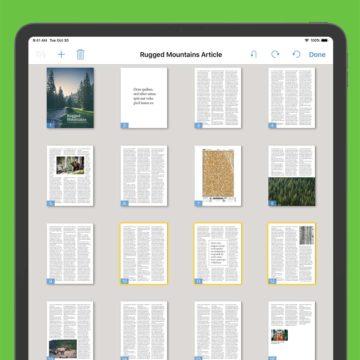 PDFpen 5.1 per iPad e iPhone con supporto finestre multiple su iPadOS