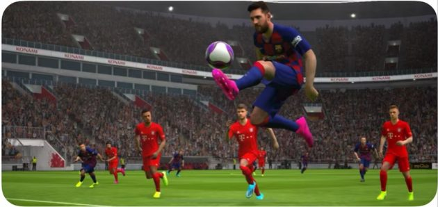 eFootball PES 2020 disponibile su iPhone, iPad e Android