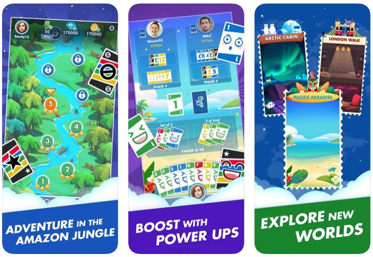 Phase 10: World Tour, il gioco da tavolo per iPhone e iPad dai creatori di UNO