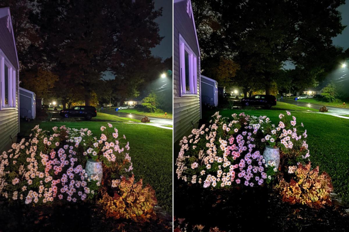 La modalità notturna di iPhone 11 anni luce avanti ai Pixel 4