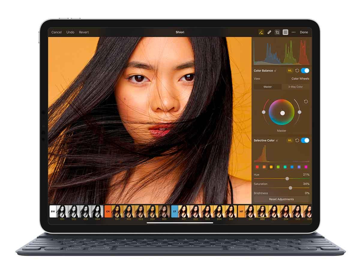Pixelmator Photo aggiornato con supporto iPadOS ed elaborazione in batch