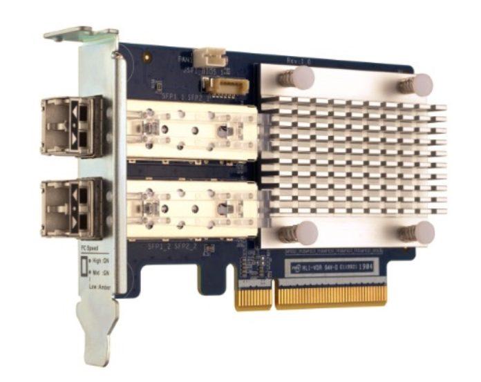 QNAP lancia le schede di espansione Fibre Channel a due porte 16Gb/32Gb