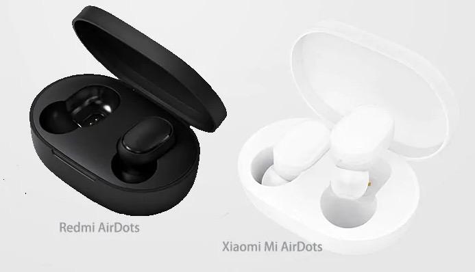 Redmi AirDots vs Xiaomi Mi AirDots, differenze e caratteristiche
