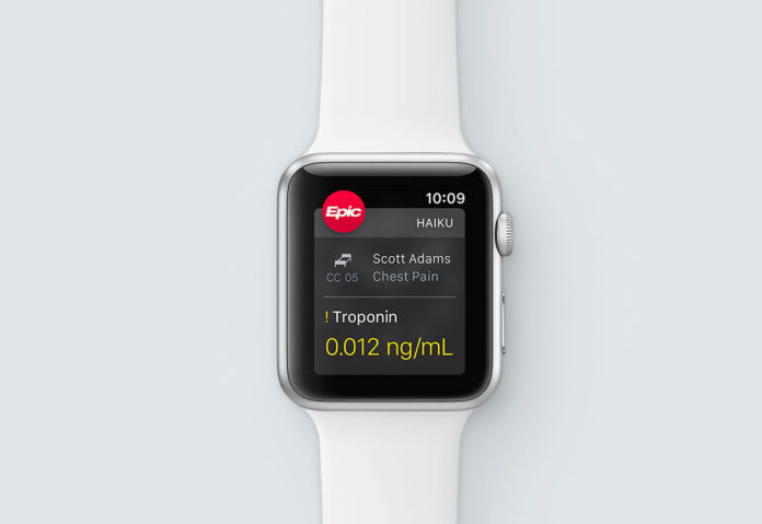 In California i medici registrano le note per i pazienti con l'Apple Watch