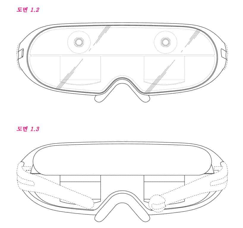 Ecco il visore AR che Samsung descrive nel suo brevetto