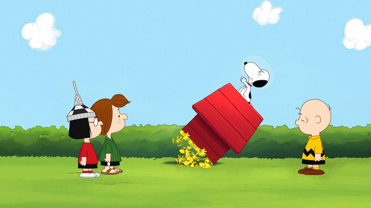 Snoopy in Space Design Lab in arrivo negli Apple Store