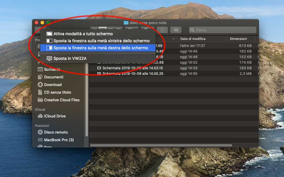 Dieci piccole cose nascoste di macOS 10.15 Catalina