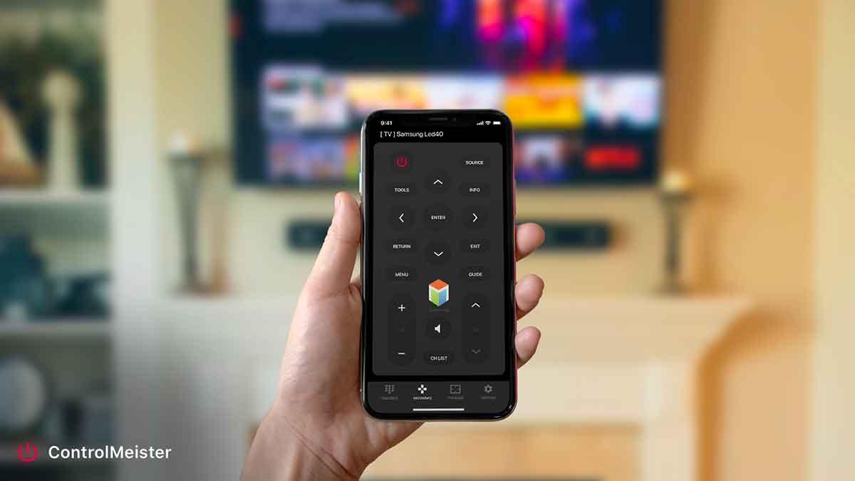 ControlMeister, un'app gratuita per trasformare iPad e iPhone in telecomando per le TV Samsung