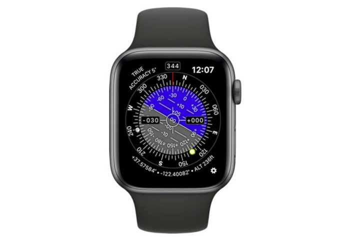 Con Theodolite for Watch, il teodolite sul polso con Apple Watch