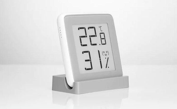 Termometro e igrometro Xiaomi a inchiostro digitale,  solo 8,23 euro con il codice sconto