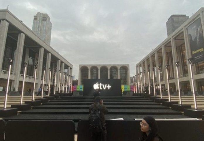 A New York tutto pronto per la premiere di The Morning Show di Apple TV +